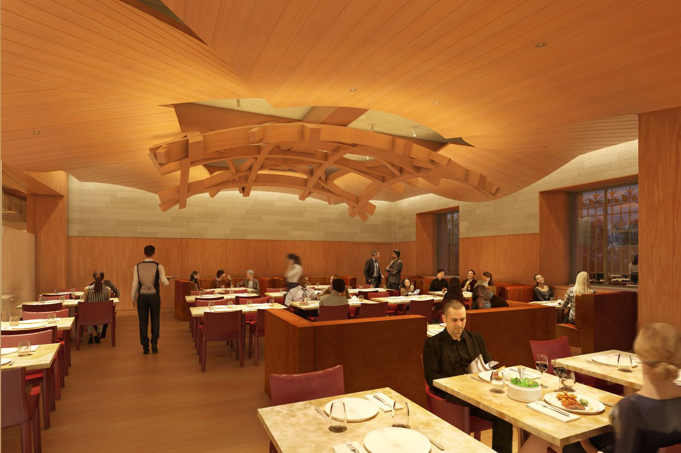 Architect Frank Gehry to design Art Museum restaurant