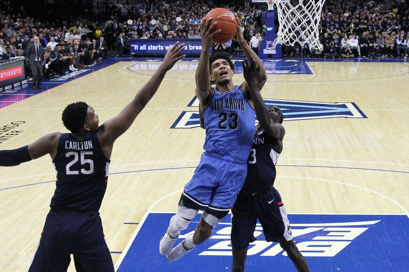 No. 14 Villanova 61, Connecticut 55: Stats, highlights, and reaction from the Wildcats' victory