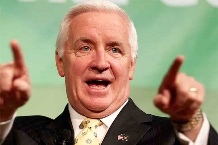 Pa. Gov. Tom Corbett on Monday signaled that he was willing to advance millions of dollars in state education money to Philadelphia schools to ensure that they open on time next month.