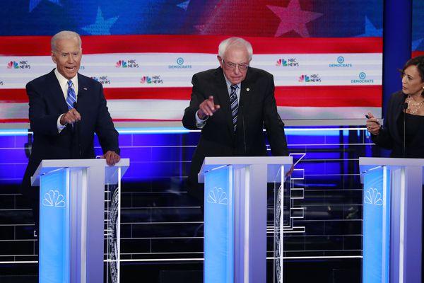 Kamala Harris confronts Joe Biden on race, Democrats clash on health care in heated second debate
