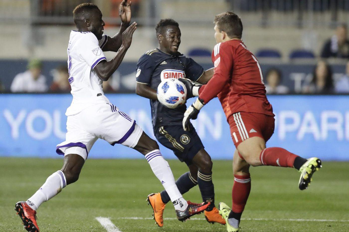 Dom Dwyer, Orlando City embarrass Union in 2-0 loss