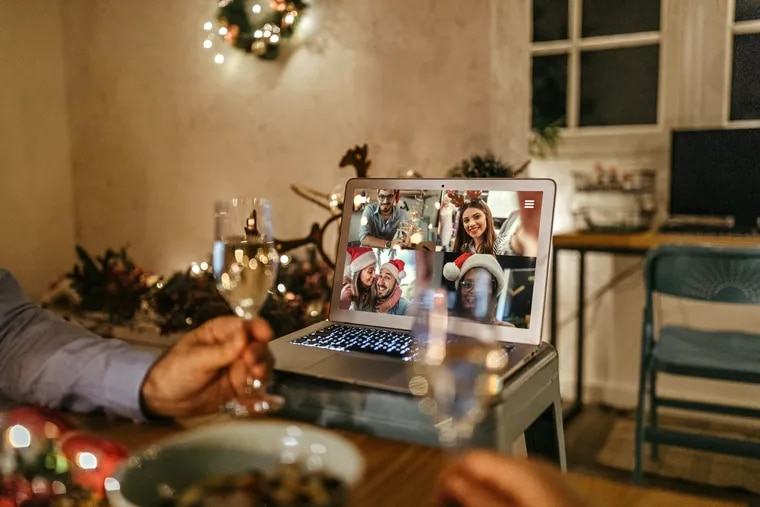 For some, video chat has made the holidays more fun, while for others, it feels like work.
