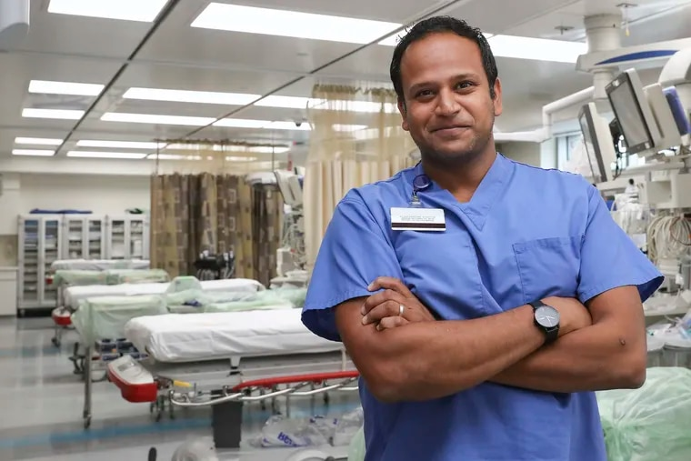 Austin Kilaru, an emergency physician at Penn Presbyterian Medical Center, led research on whether some emergency department patients who would normally be admitted to the hospital could safely recover at home.