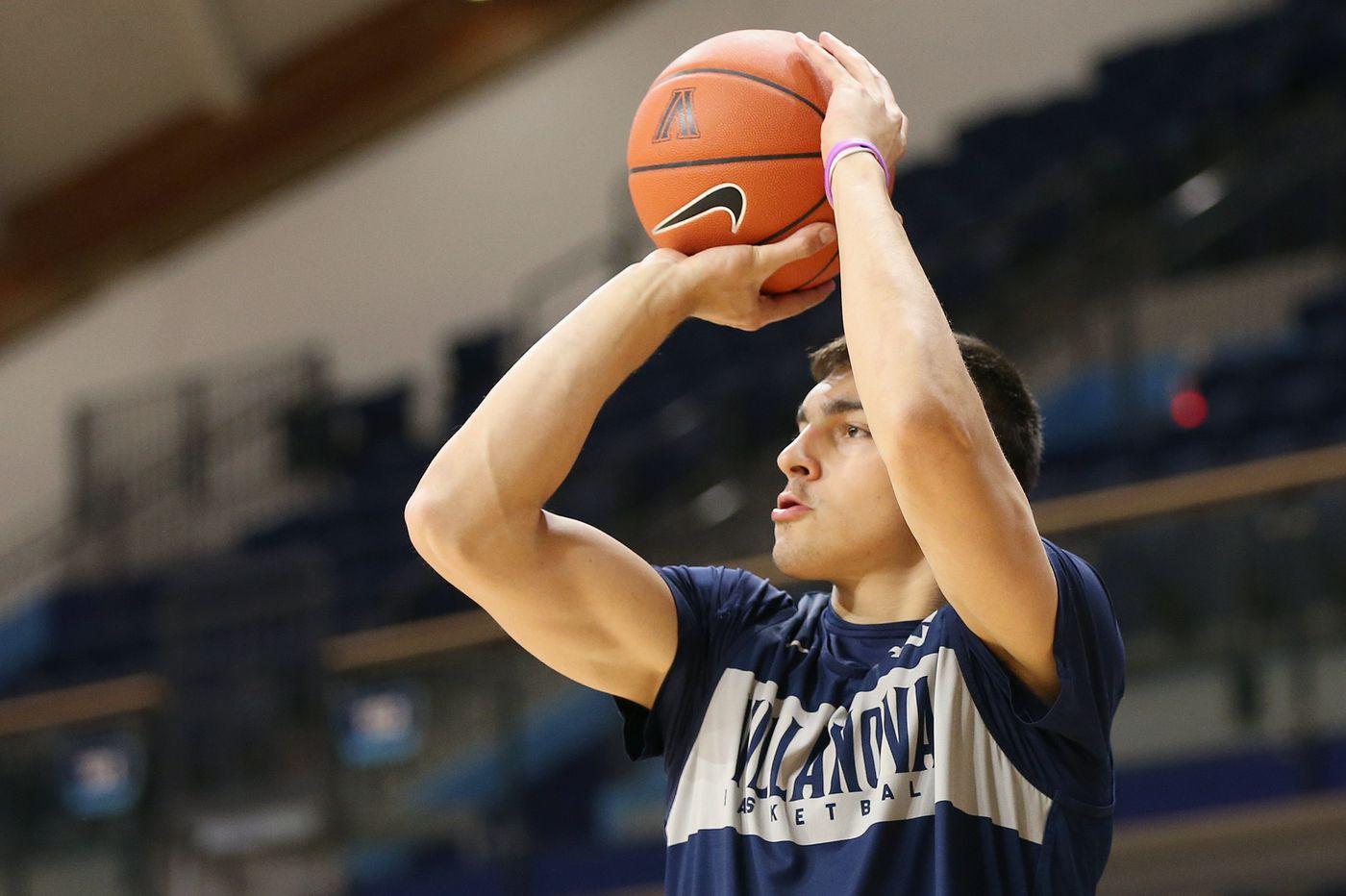 Villanova basketball reserve Dylan Painter to transfer