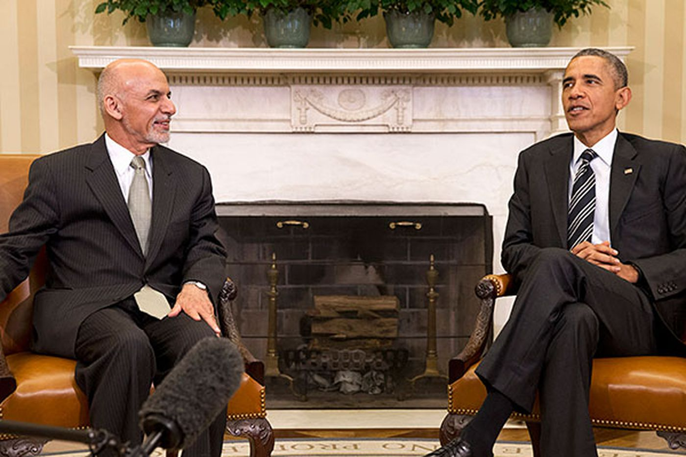Worldview: U.S. gains friend in Ghani, but does not return favor