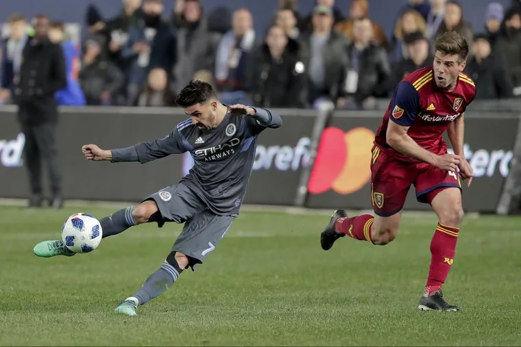 David Villa has scored 74 goals in four years with New York City FC, including 24 last season and nine this year.