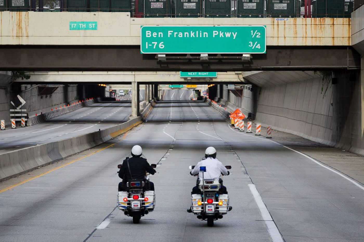 Construction to close part of Vine Expressway this week