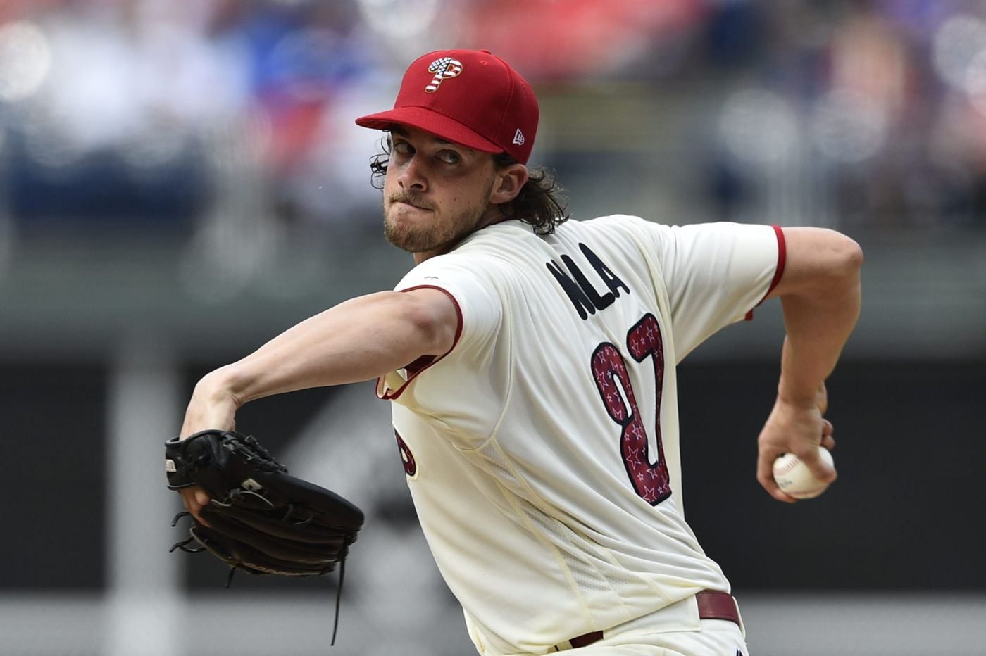 Phillies' Aaron Nola hoping to pitch in All-Star Game, face college roommate