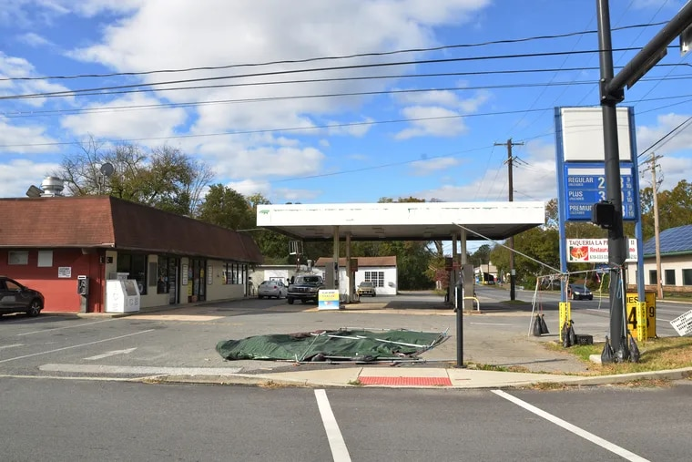 This property that currently operates as a gas station and small restaurant is up for sale for over $1 million. It is at 700 W. Cypress St. in Kennett Square, Chester County.