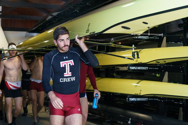 Dad Vail 2019: Temple rower Stephen Gennaro continues family tradition of parents and brothers