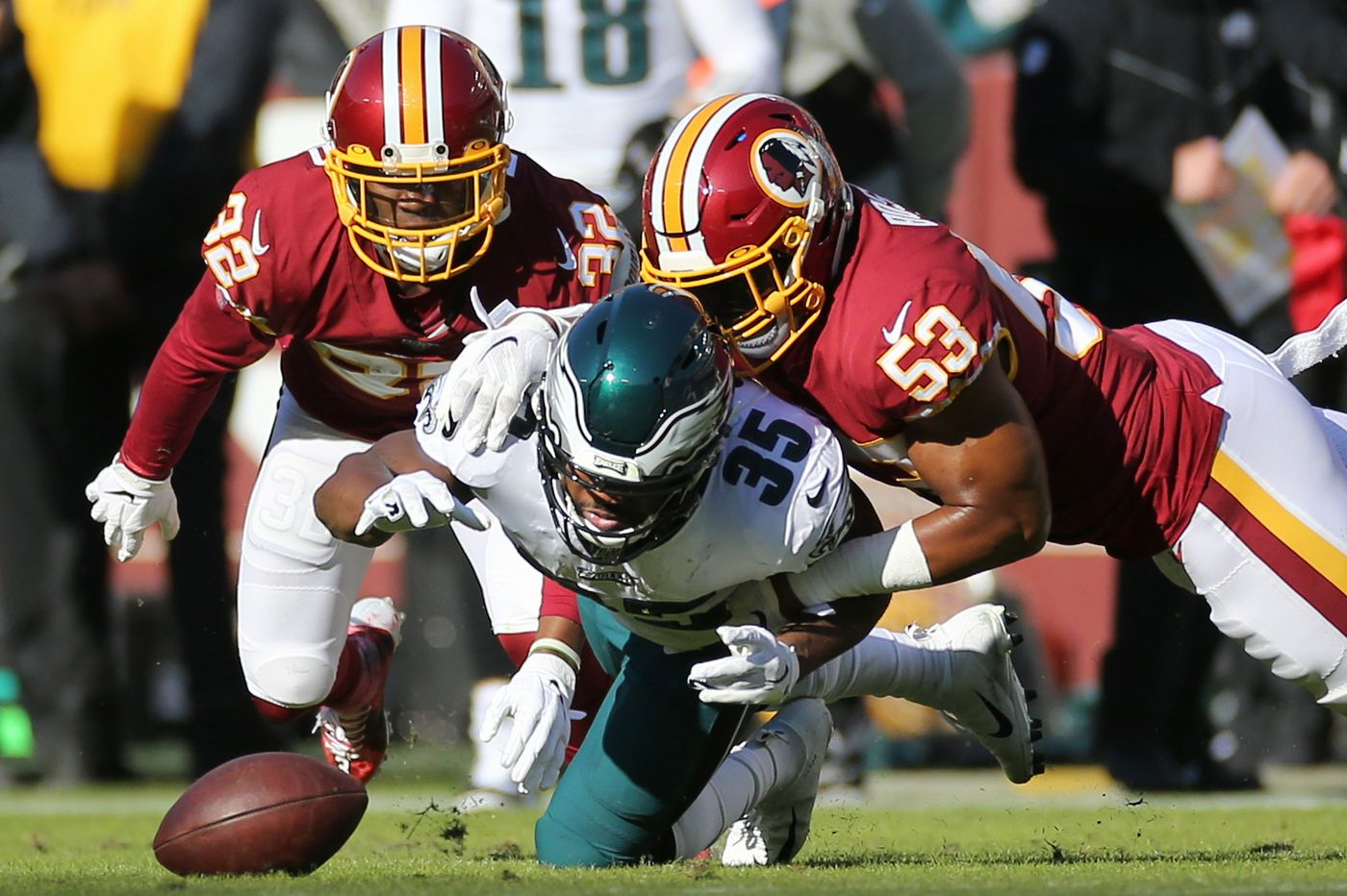 Eagles beat Redskins, 37-27, but they urgently need to play with more passion | Bob Ford