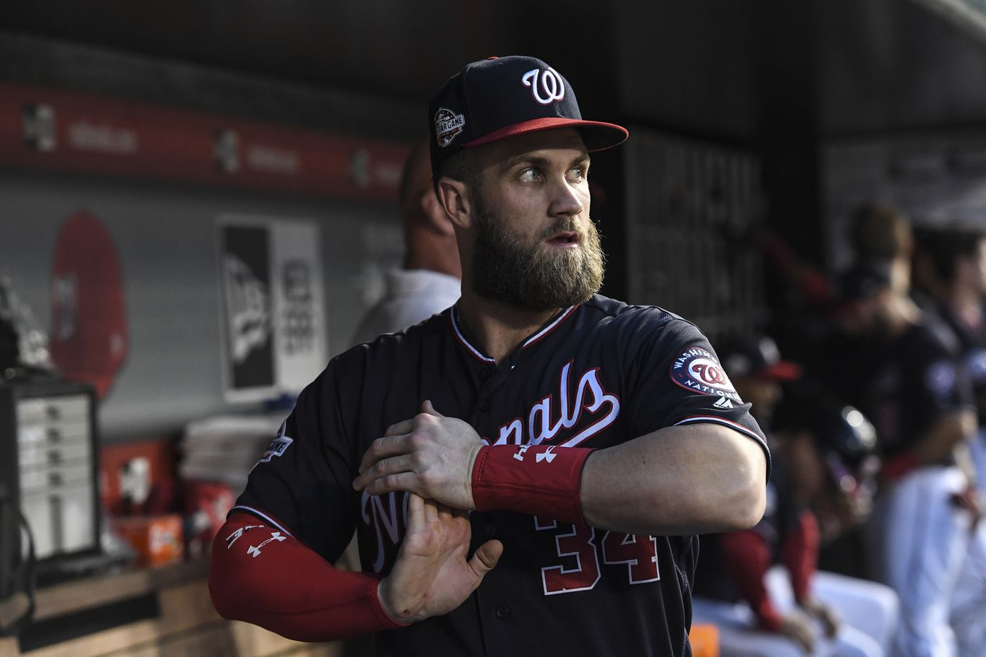 brand new 2ee0c 4cde1 Bryce Harper on the Phillies: That fight with Jonathan ...