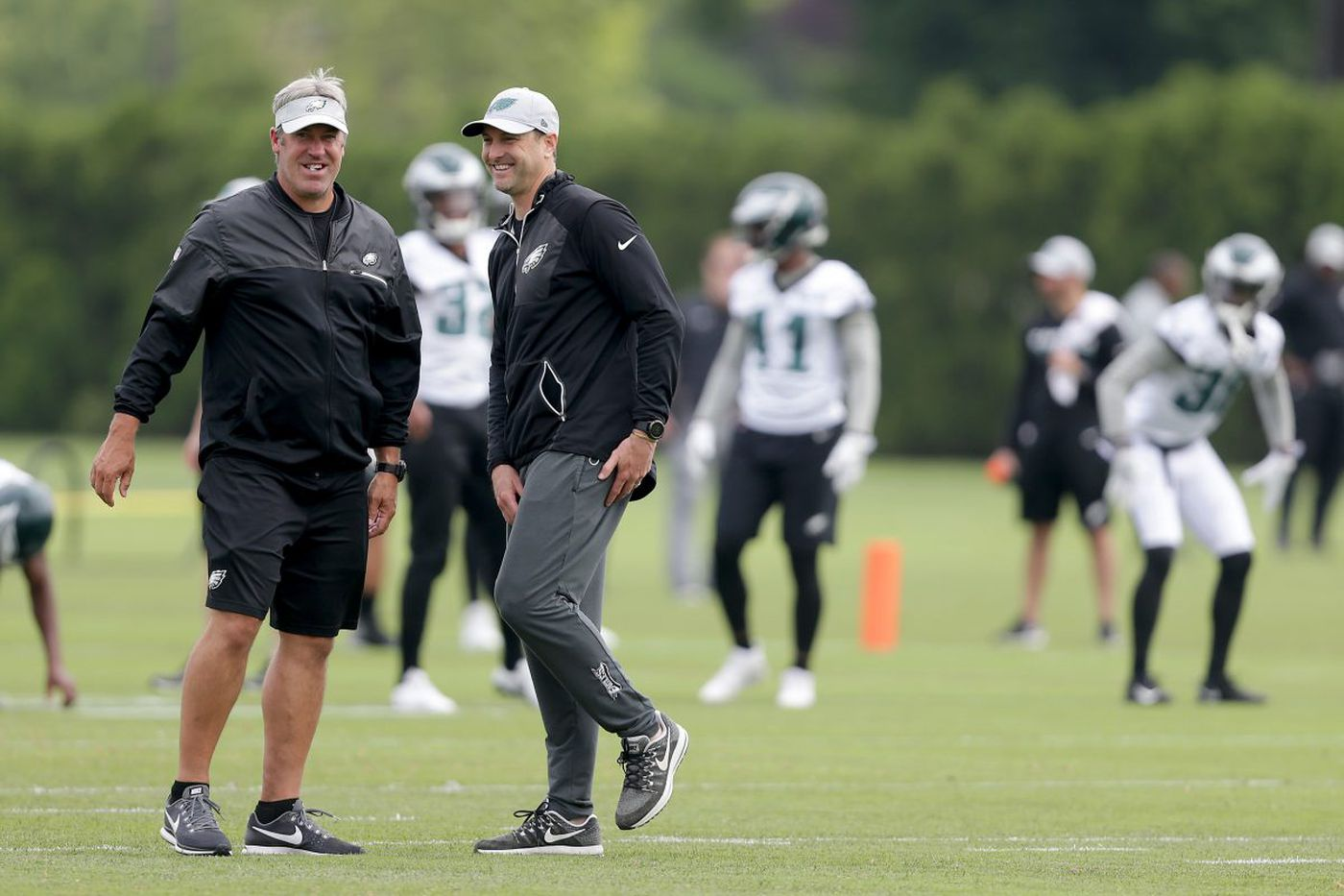 New Eagles offensive coordinator Mike Groh: 'It's the Philadelphia Eagles' offense'