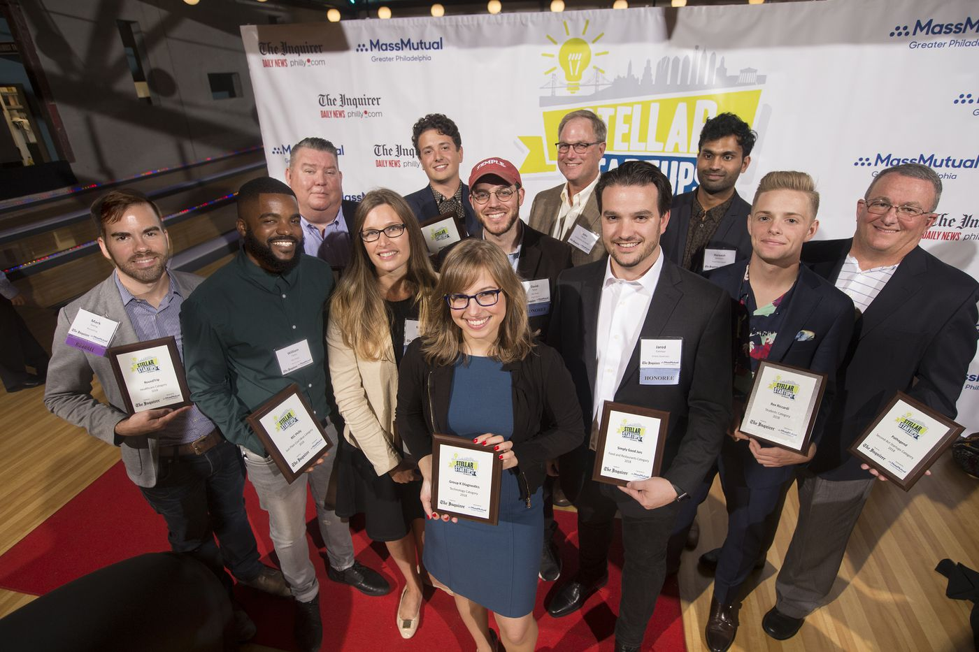 The Inquirer's 2018 Stellar StartUps winners named at gala