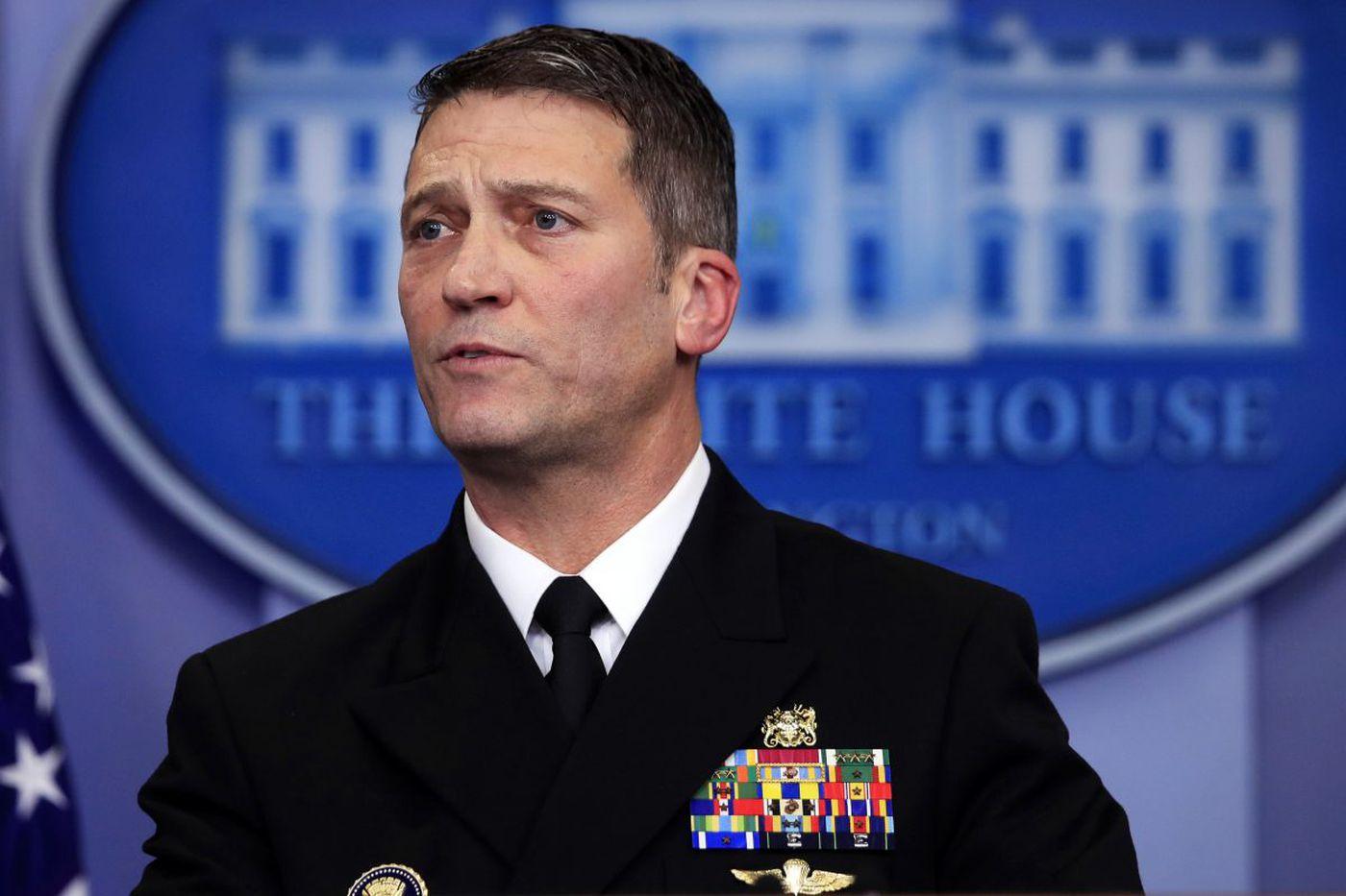 Senate Republicans express concerns about Trump's choice to lead Veterans Affairs
