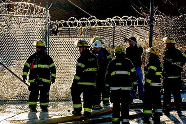 1 dead as fires hit vacant warehouses