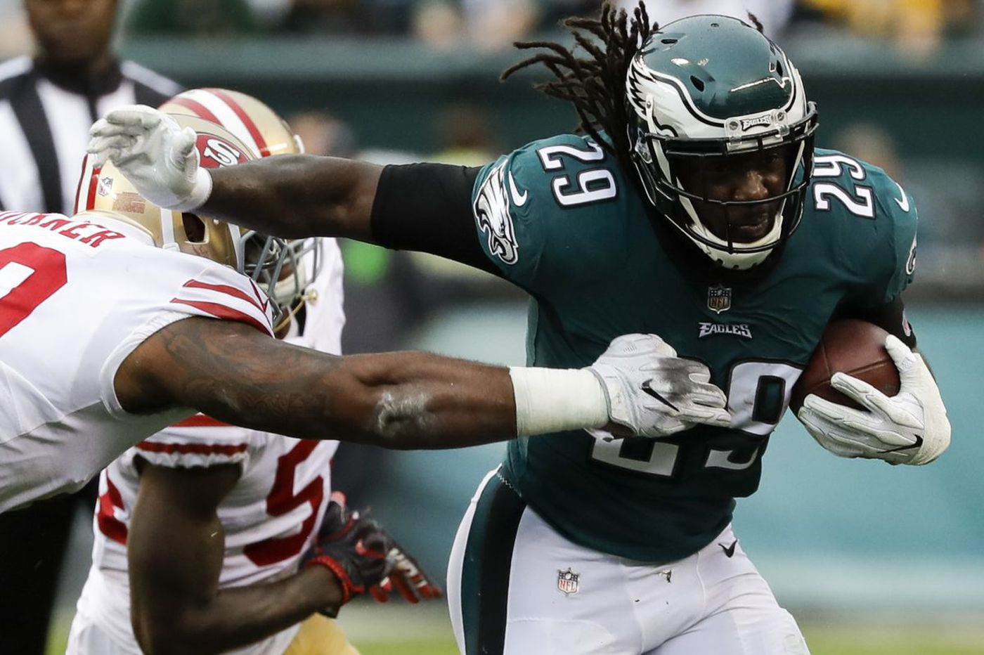 Injury to Jason Peters, home-field advantage the impetus for Eagles' Jay Ajayi trade