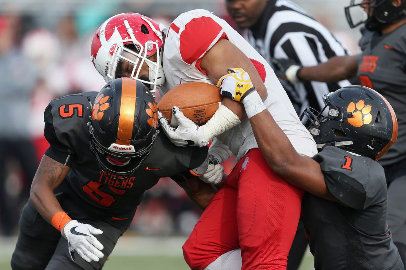 It was the year of the running back in S.J. football