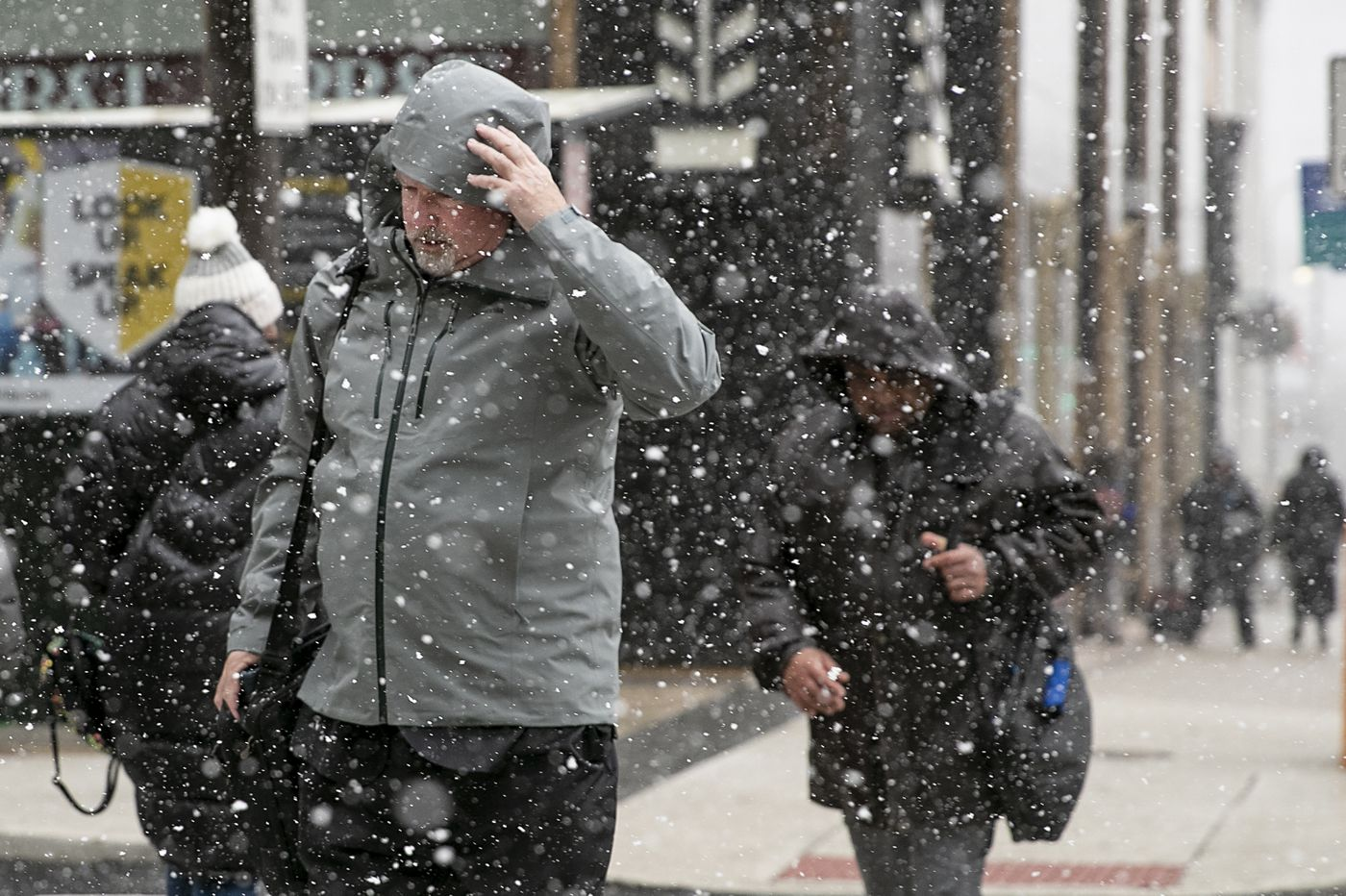 Yes, those were snowflakes in the Philly region Wednesday; nasty rainstorm likely for the weekend