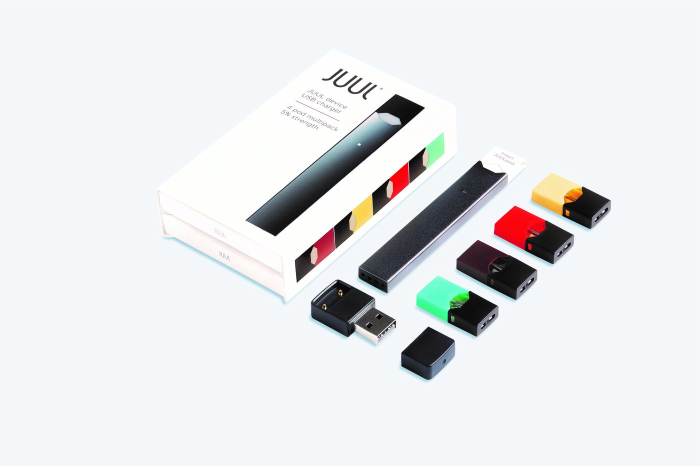 Juul will immediately stop selling flavored e-cigarettes in retail stores