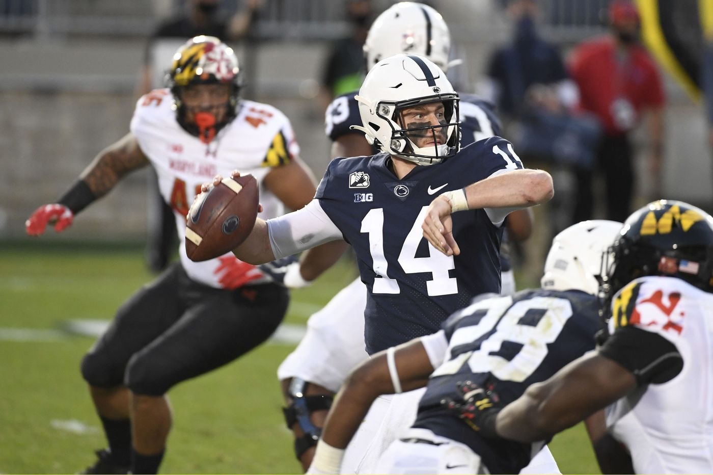 Winless Penn State shocked by Maryland, 35-19, as players talk about lack of accountability