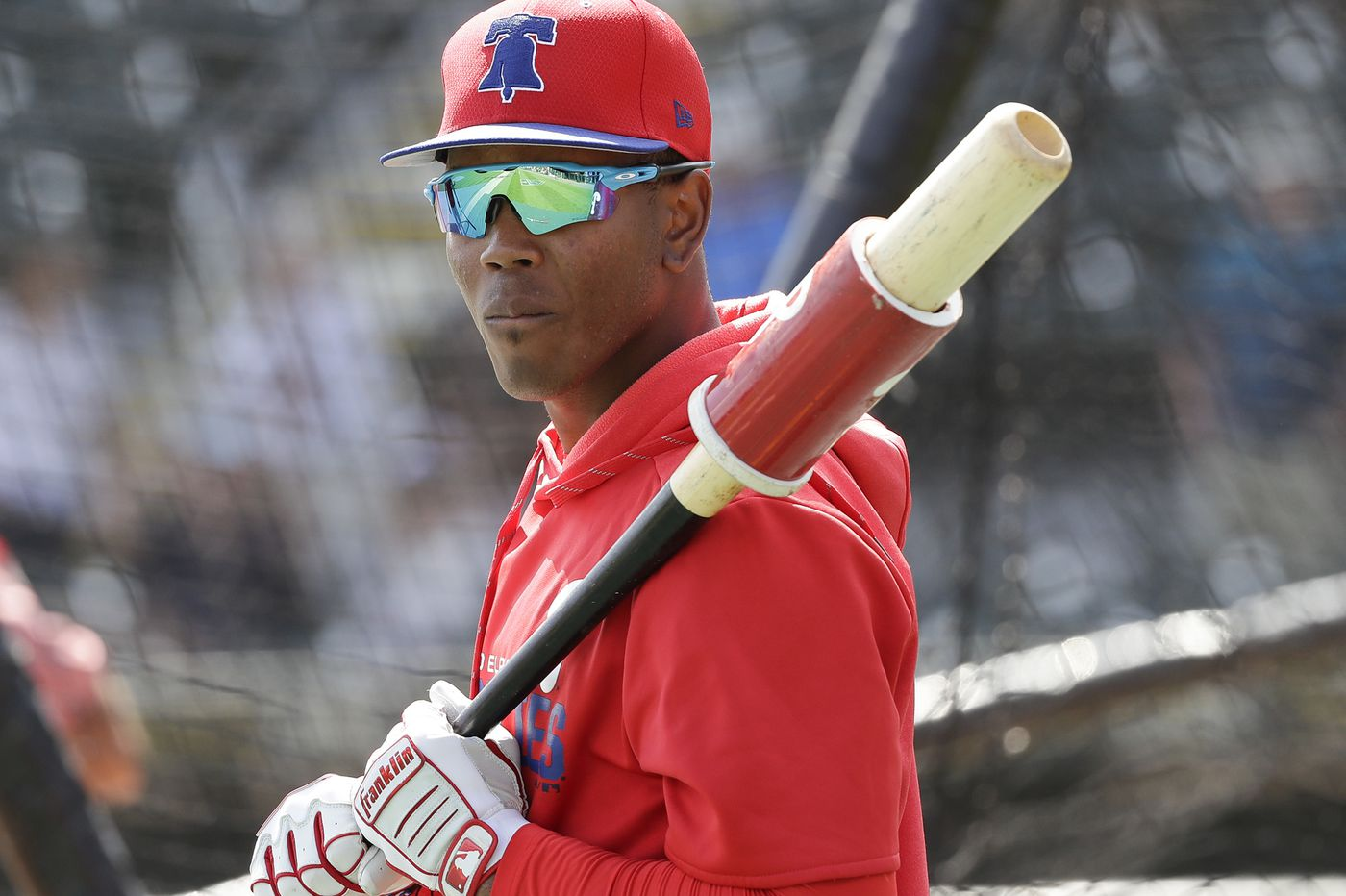 Phillies' coveted shortstop prospect Luis Garcia gets a taste of major-league action in spring training