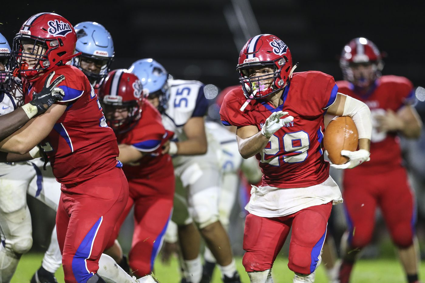 Chris James powers Neshaminy past North Penn, 35-19
