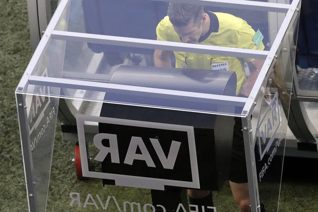 FIFA referees train with VAR, a sign video replay is on track for Women's World Cup