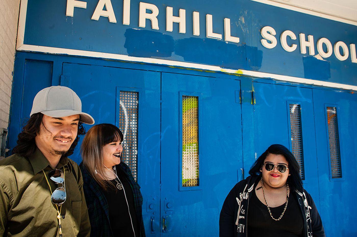 A shuttered school finds new life as art