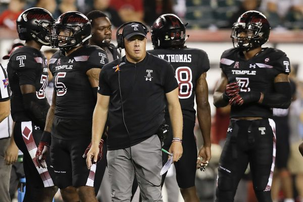 What Temple coach Geoff Collins is saying ahead of game vs. Houston