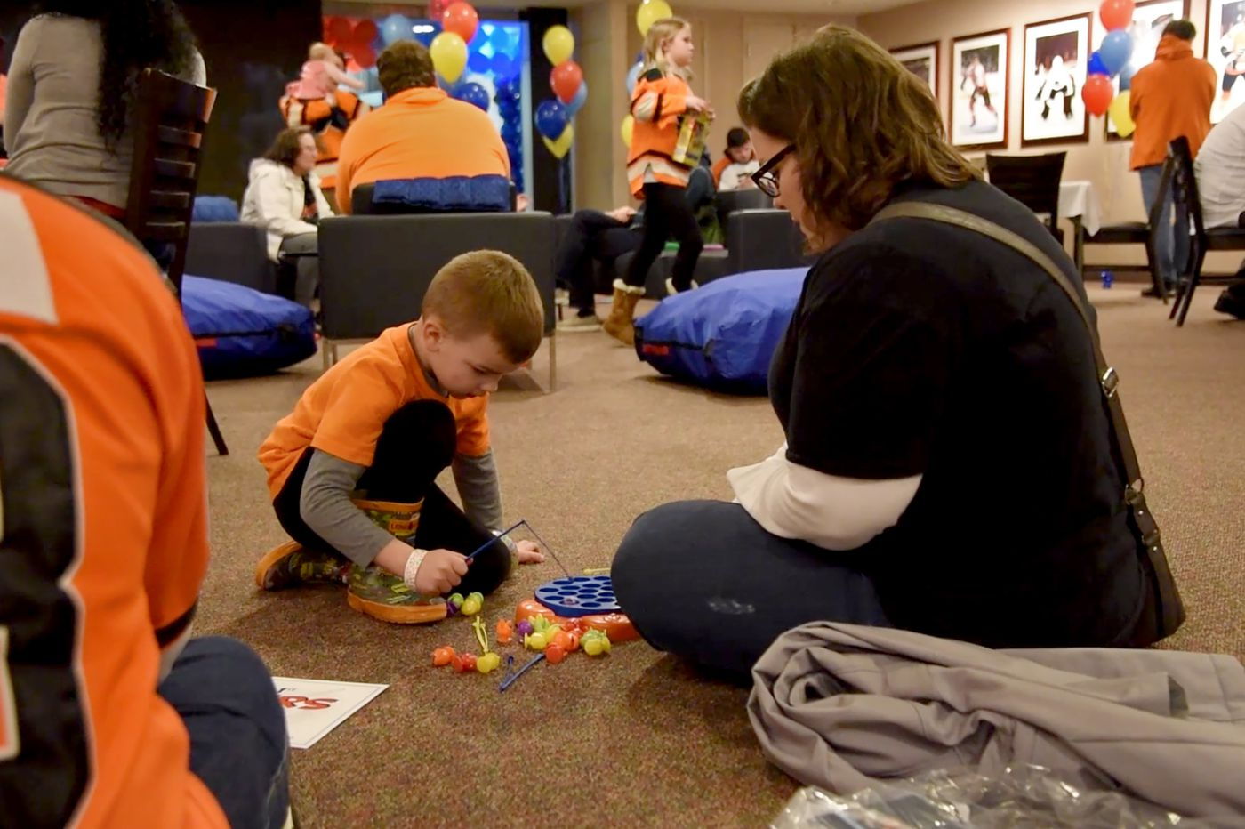 Sensory-friendly room allows autistic Flyers fans to enjoy the game but get away from the craziness