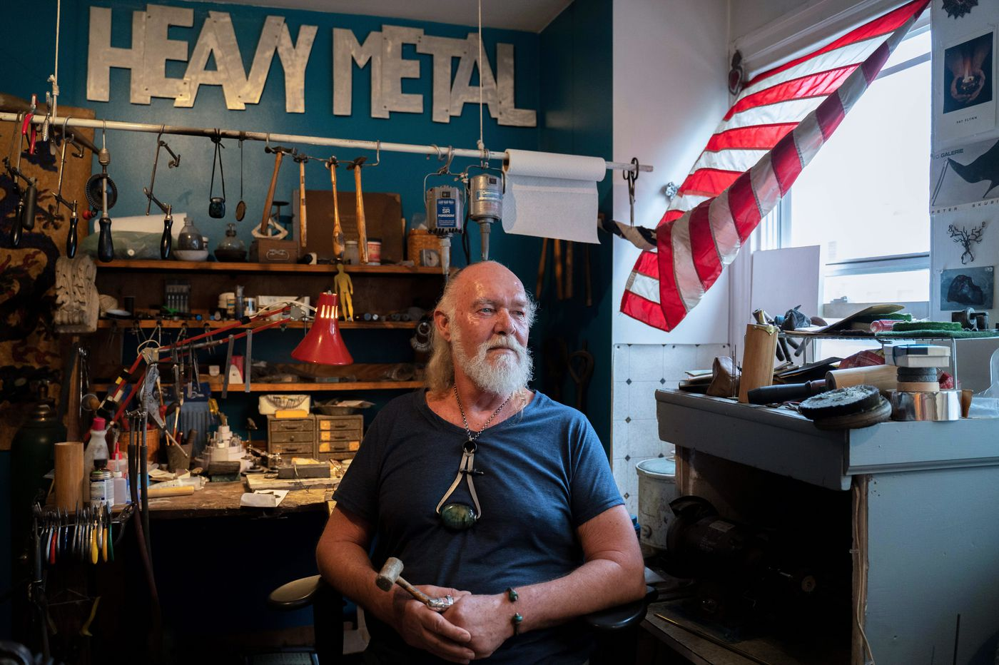 Philly jeweler made his own prosthetic thumb out of silver: It's 'shameless self-promotion' | We The People