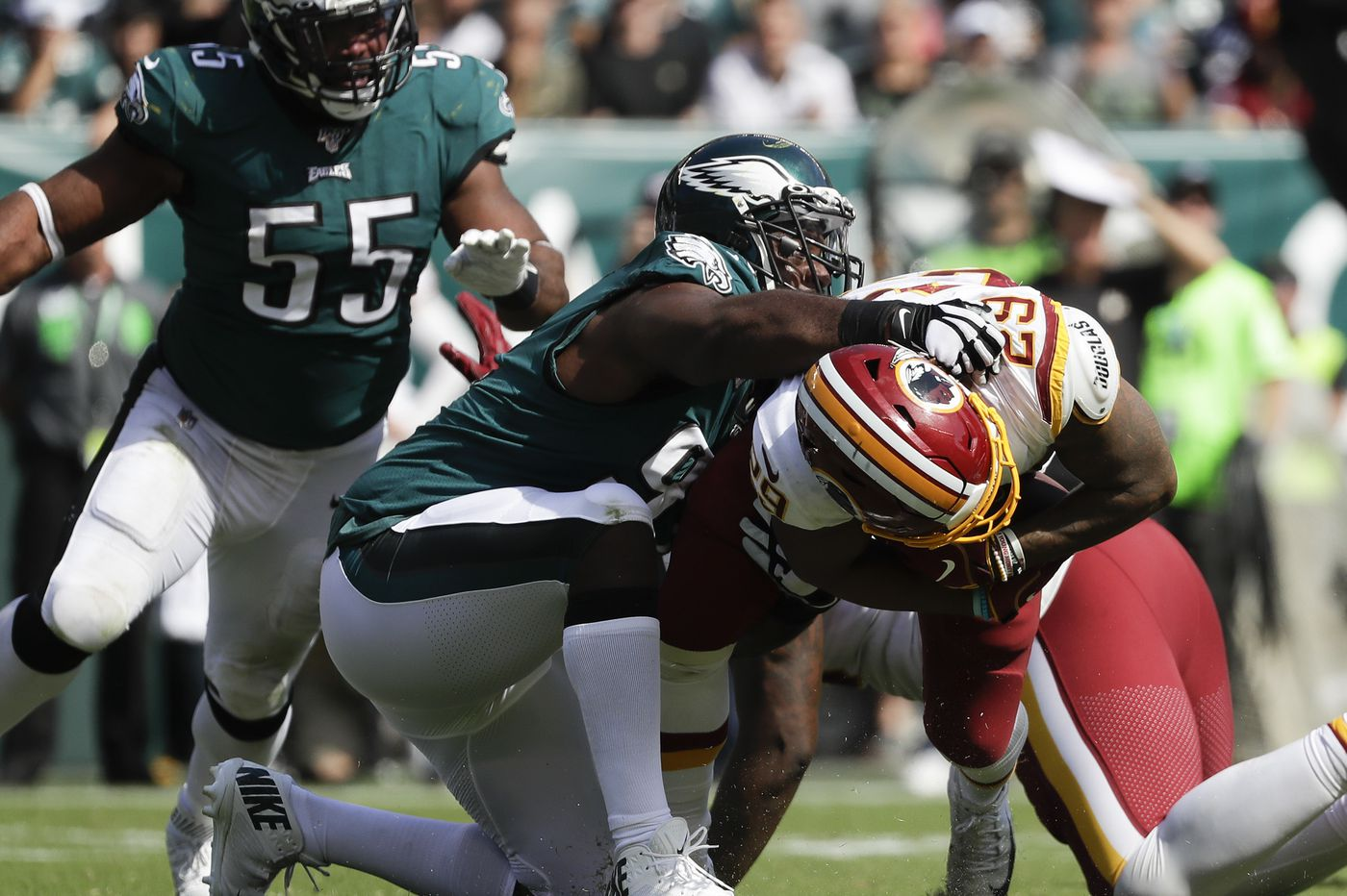 Eagles, like Patriots, creating a winning culture with extra