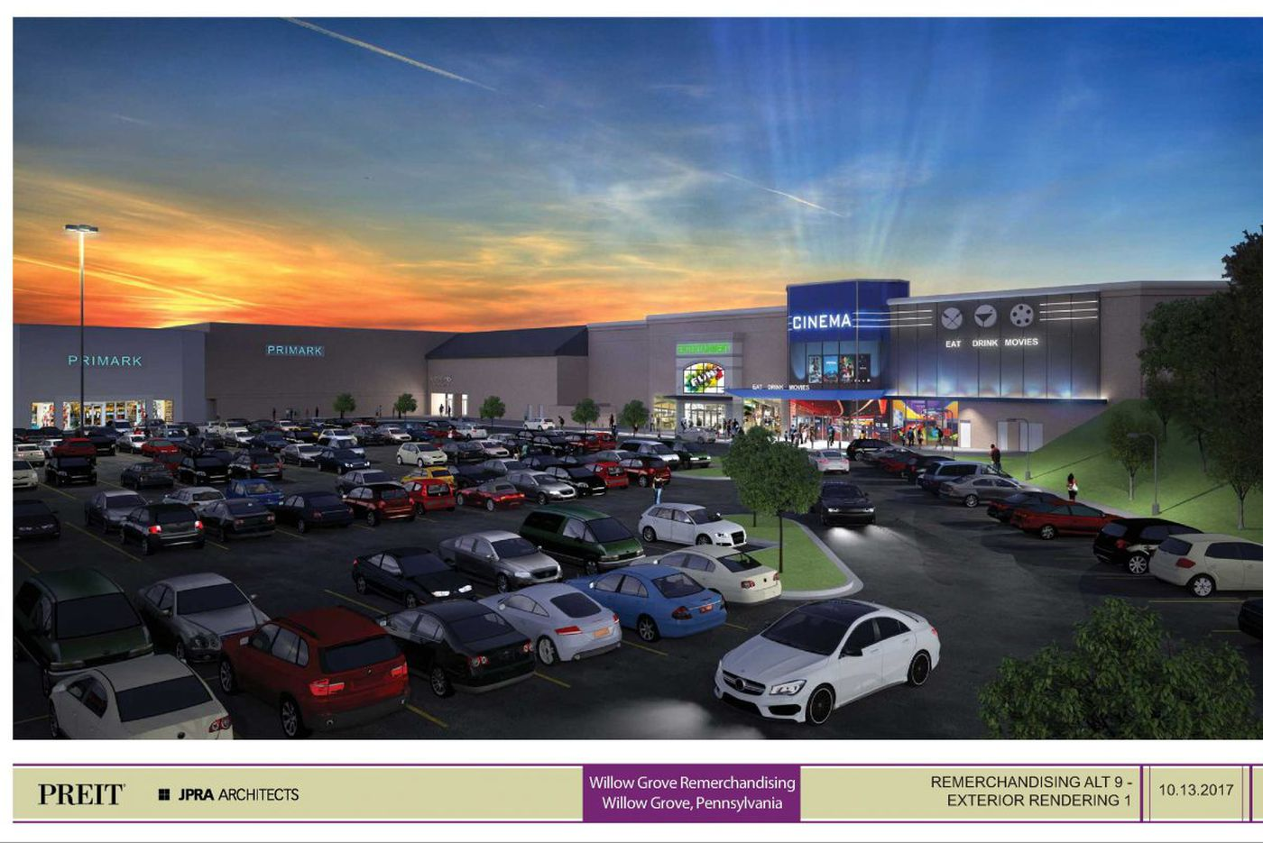 Willow Grove Mall will host Studio Movie Grill: Full dining with first-run movies