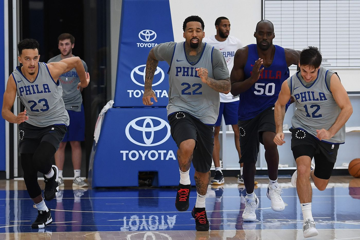 Without Wilson Chandler in mix, Sixers still a work in progress