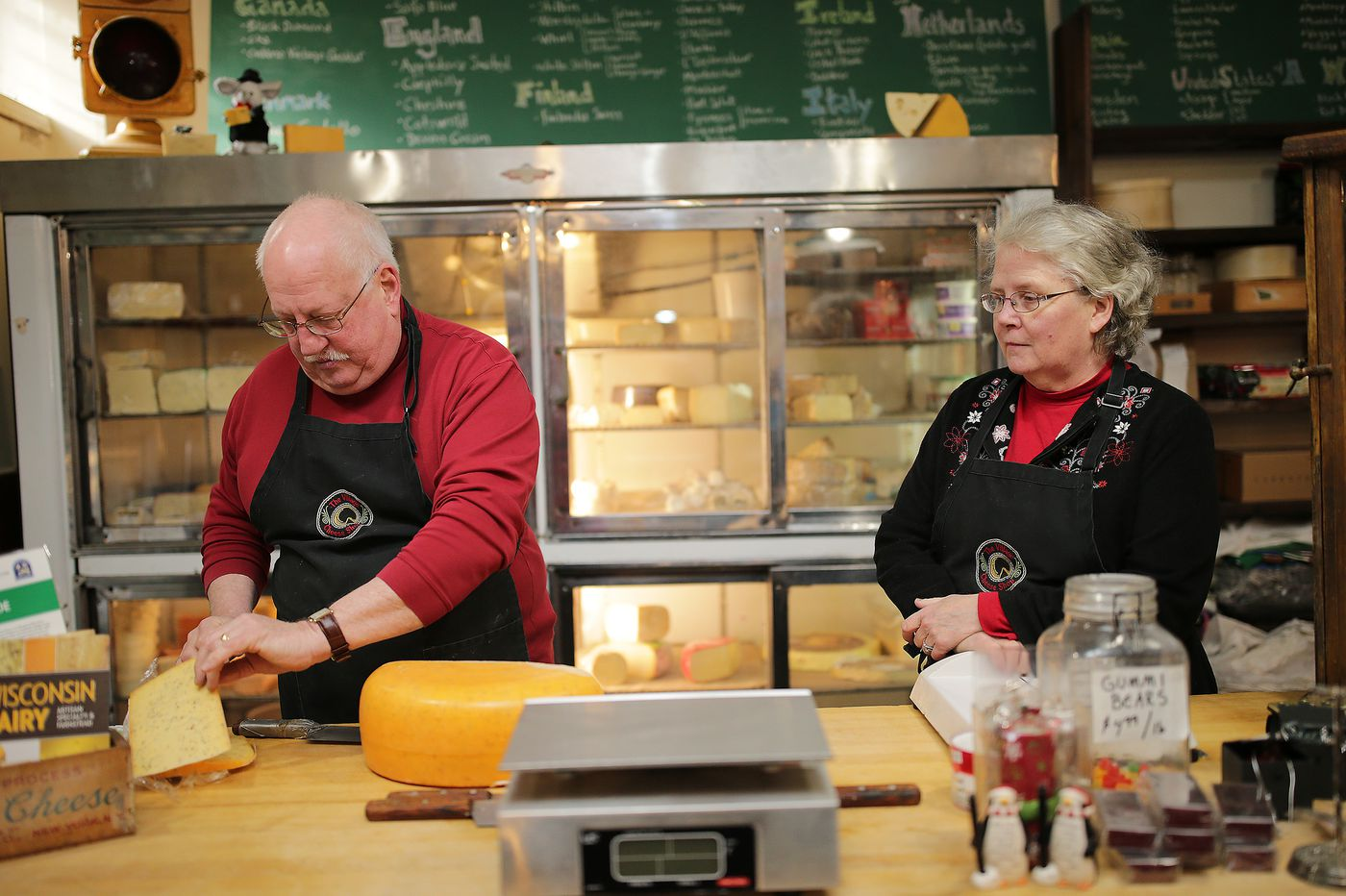 Breaking free of brie, the mom and pop behind New Jersey's Village Cheese Shop say it's time to retire