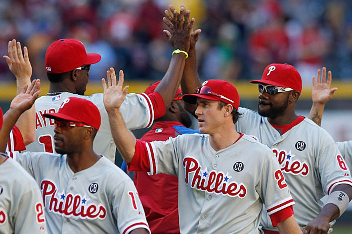 Phillies, Nationals by the numbers