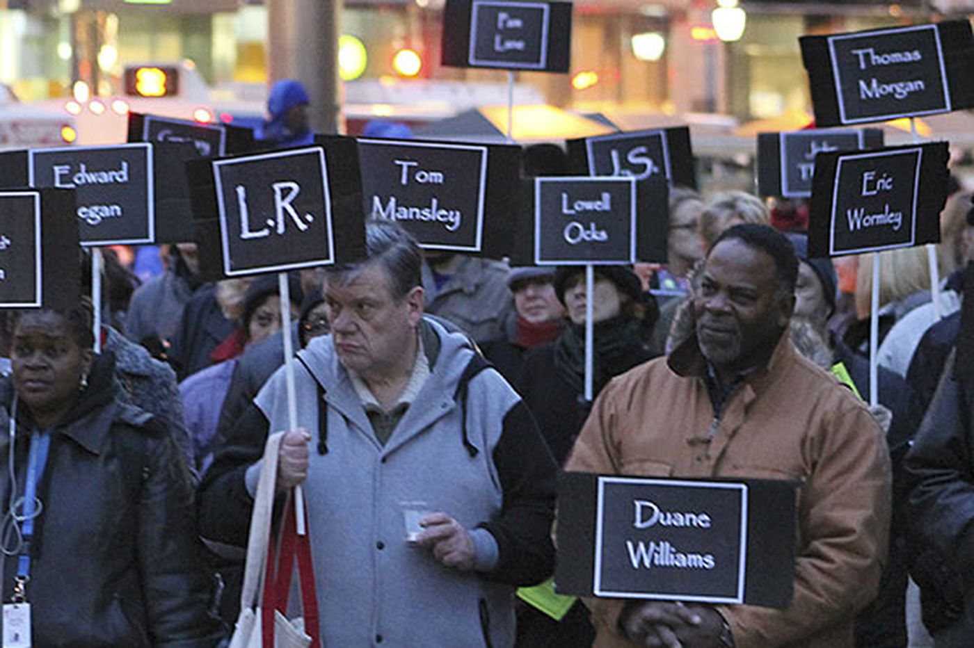 Remembering Philly's homeless