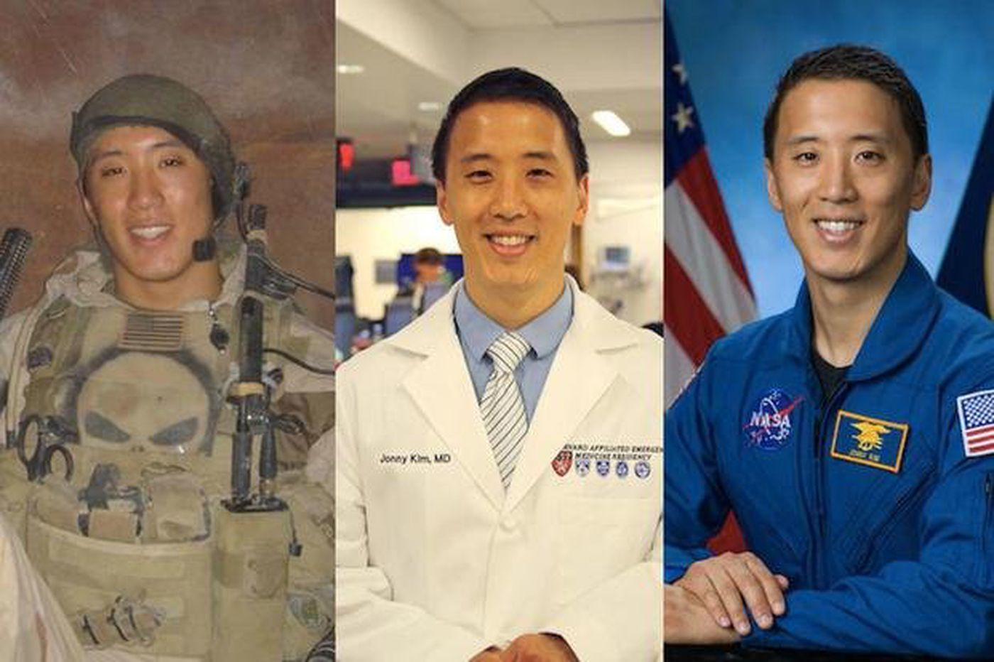 The sky is no limit for this Navy SEAL, doctor, and — now — astronaut