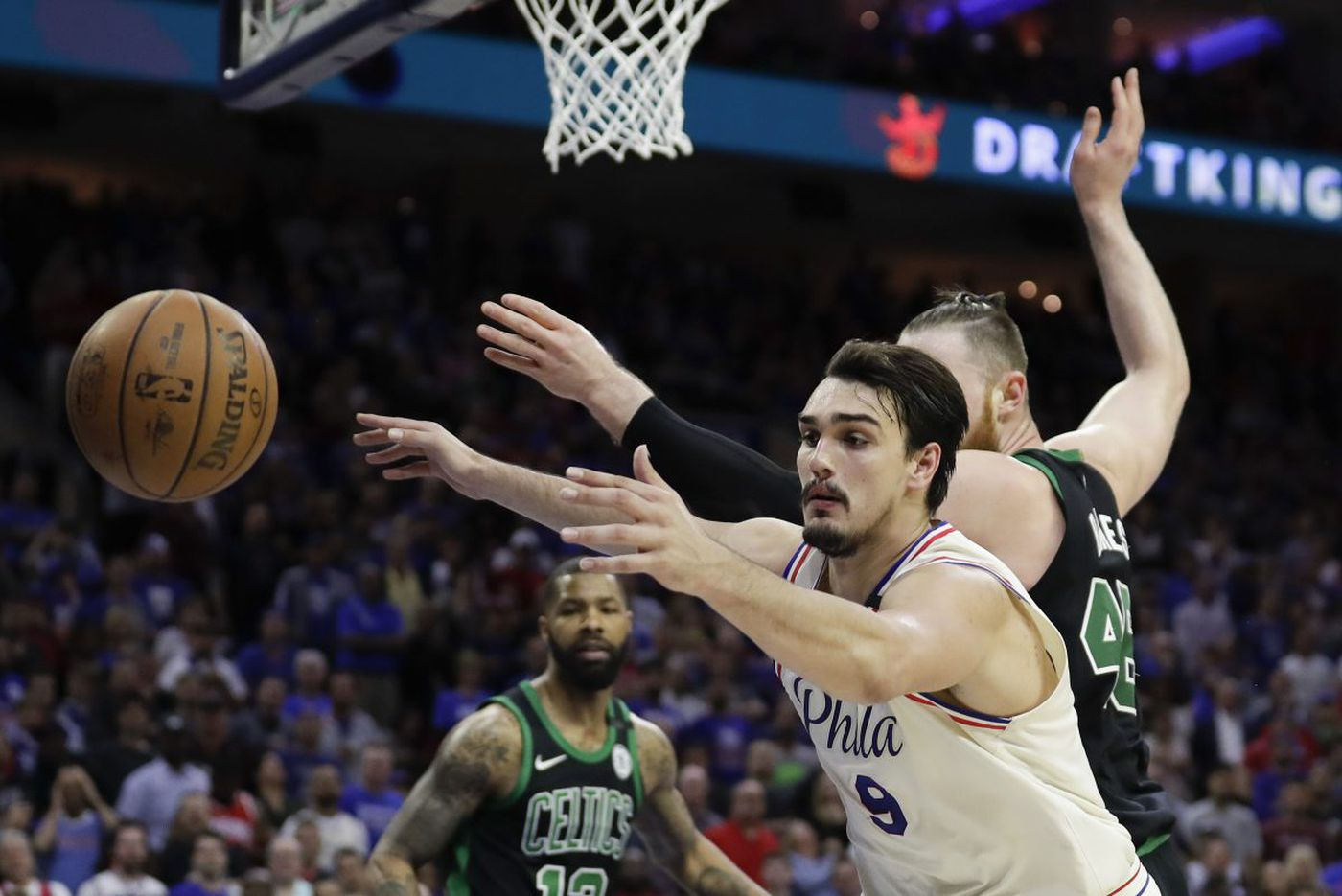 Sixers fall in 0-3 playoff hole after losing to Celtics 101-98 in overtime