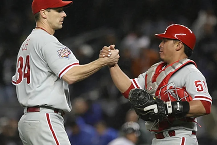 """Cliff Lee's """"desire all along was to work out a deal long term"""" with the Phillies, his agent said. (Yong Kim / Staff Photographer)"""