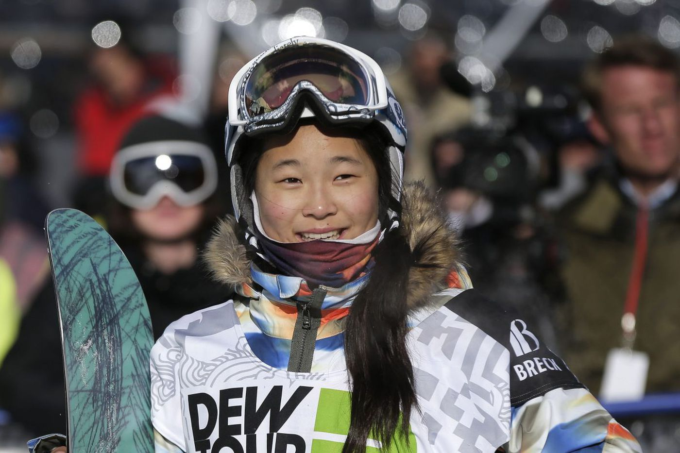 Chloe Kim to go for Olympic gold Monday night