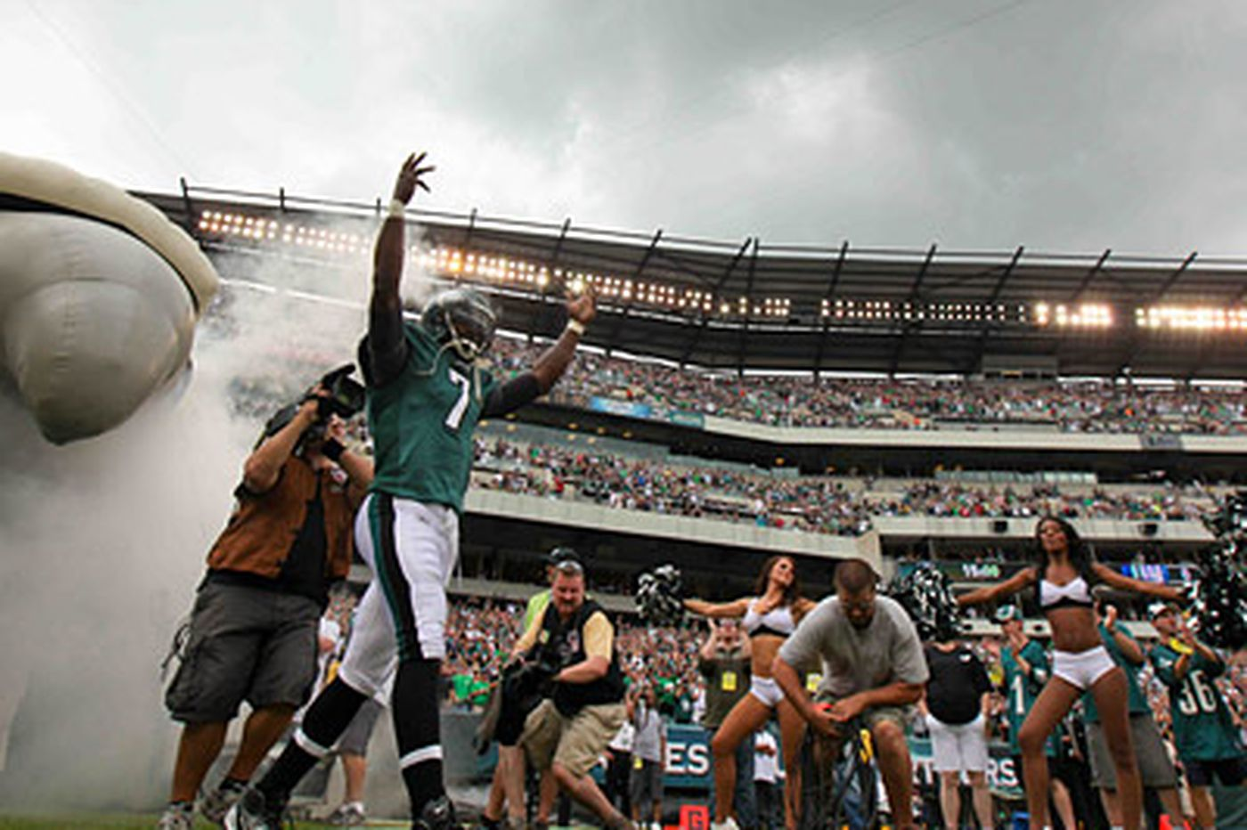 With Vick, Maclin back, Eagles are in a good spot