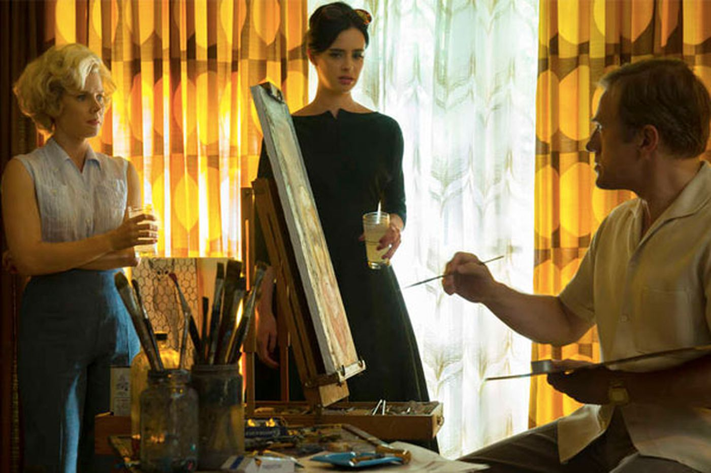 'Big Eyes': Pay no attention to that wife behind the canvas