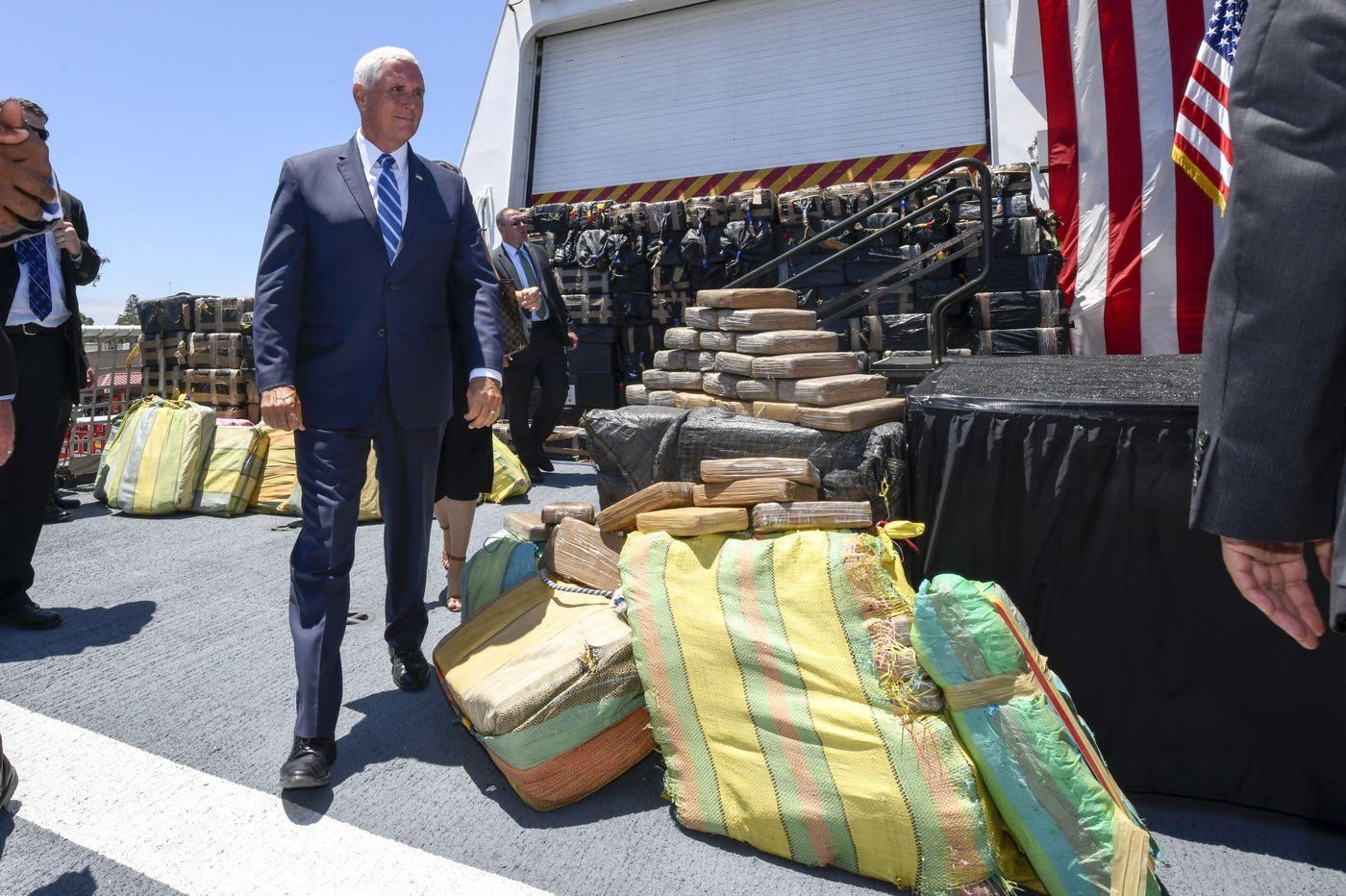 Coast Guard seizes 40,000 pounds of drugs on high seas