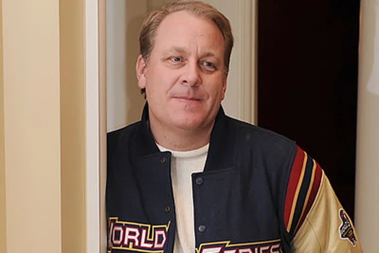 """""""They could've had a World Series berth locked up right now,"""" Curt Schilling said of the Phillies. (Jim Preston/For the Inquirer)"""