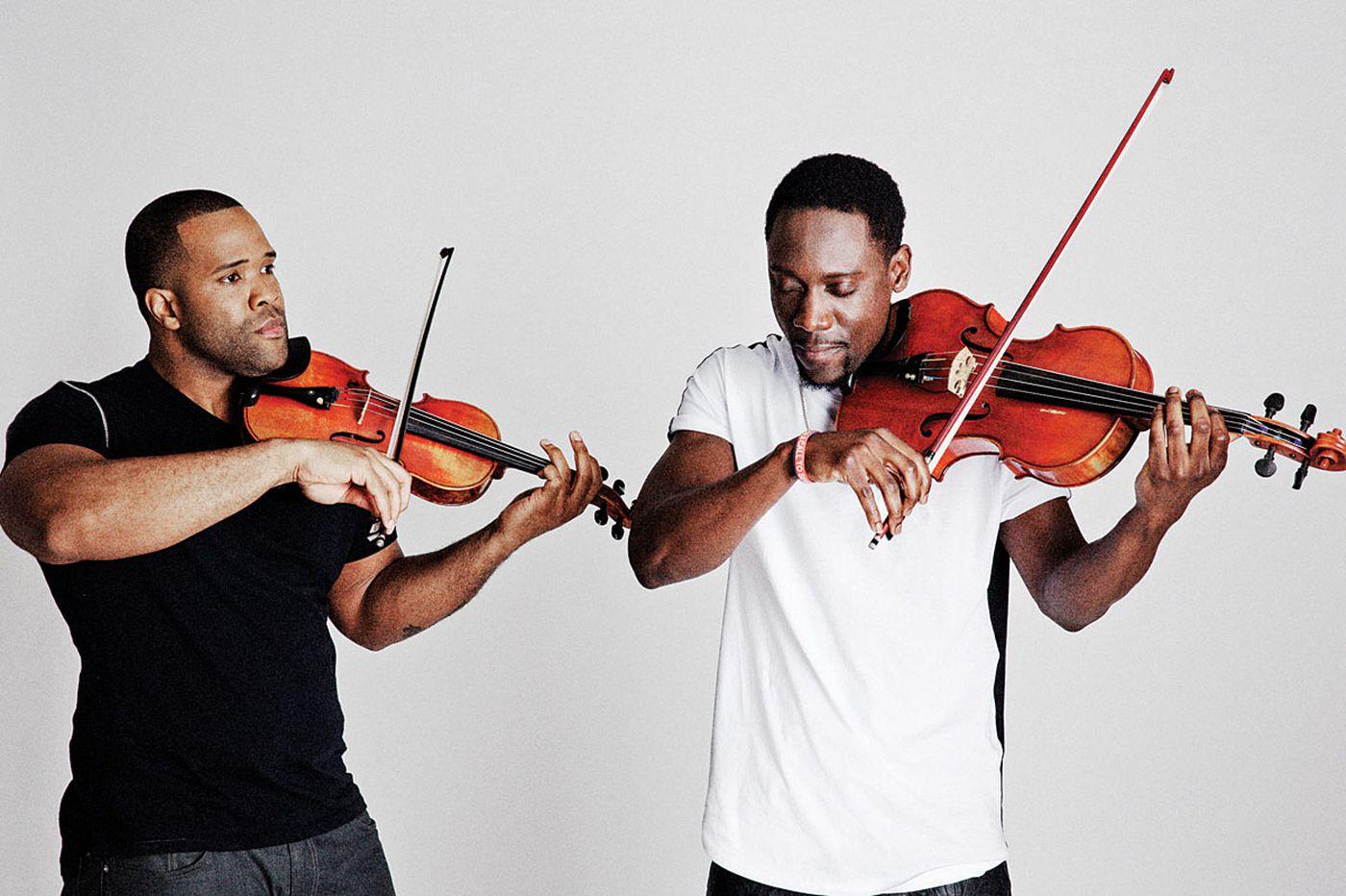 Review: Black Violin brings strings to hip-hop