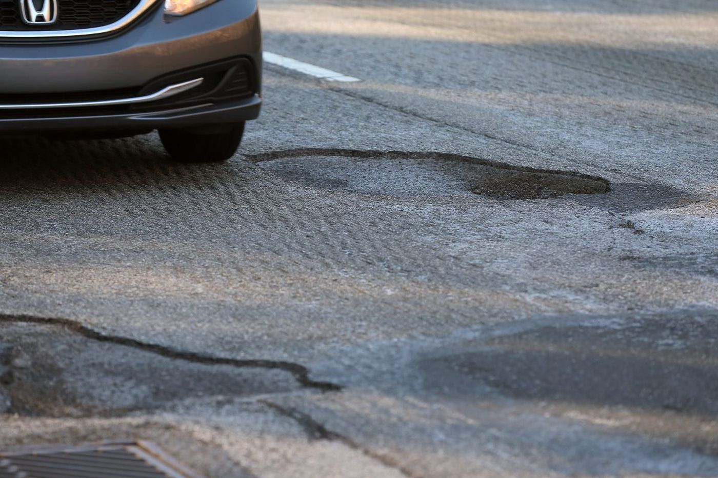 Motorists beware: Potholes are flattening tires around the region
