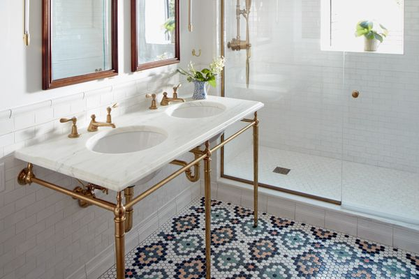 Tiny tiles are making a big comeback, with a modern twist
