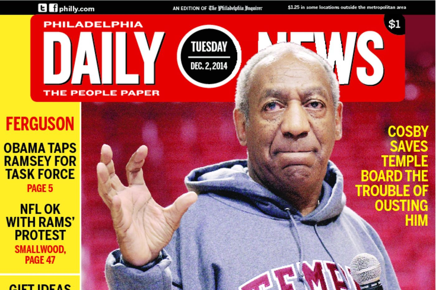 Dailynews Monthly Covers 12/02/14